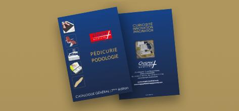 Demandez le nouveau catalogue Pédicurie-Podologie