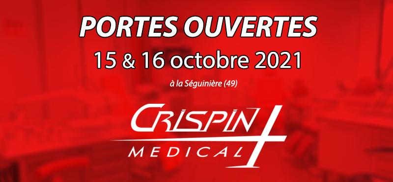 Portes ouvertes Crispin Médical - 15 et 16 octobre
