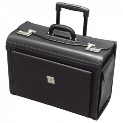 Mallette Pilot case PVC noir
